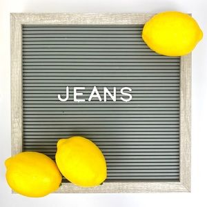 Jeans of all styles and more to come!